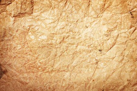 crinkled: old paper background