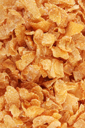 tasty cornflakes close up photo