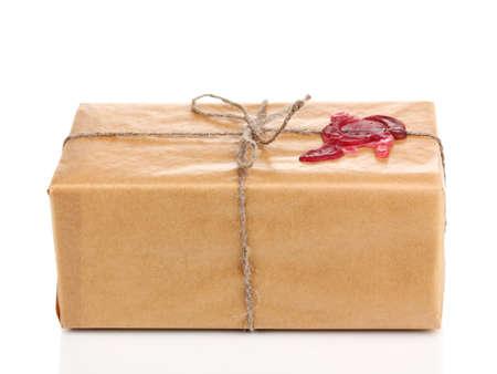 pakiety: Paczka z laku na białym