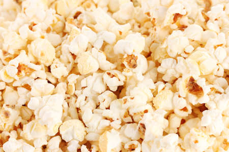 Popcorn closeup photo