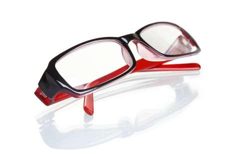 beautiful glasses isolated on white Stock Photo - 12435094