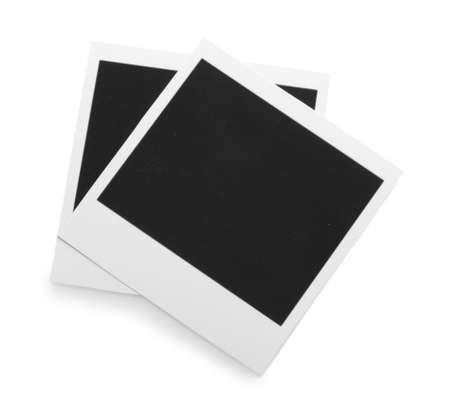 Photo papers isolated on white photo