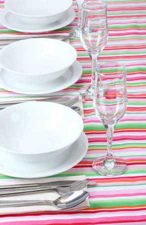 elegant holiday table setting