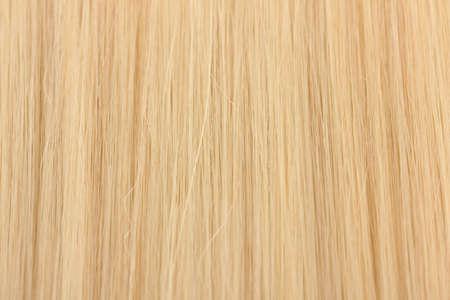 textura pelo: El pelo rubio brillante close-up