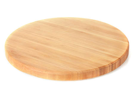 timber cutting: cutting board isolated on white