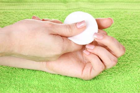 Manicure process photo
