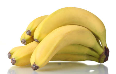 Bunch of bananas isolated on white Stock Photo - 13855854