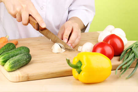 Chopping food ingredients Stock Photo - 13978674