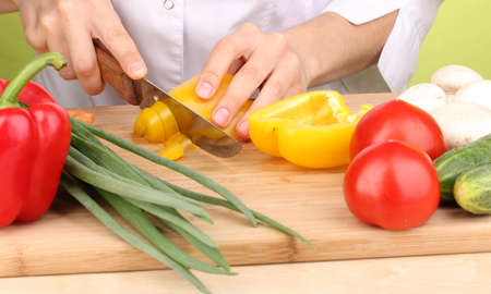 Chopping food ingredients Stock Photo - 14034475