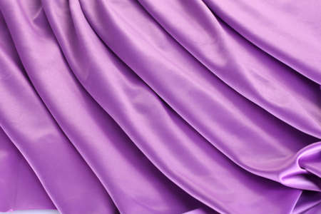 violet silk drape, background Stock Photo - 14163652