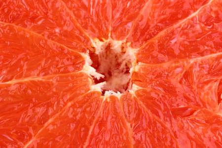 Ripe grapefruit isolated on white photo