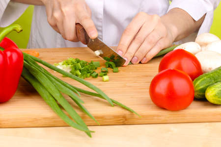 Chopping food ingredients Stock Photo - 14221395