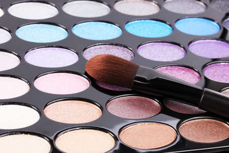 Bright eye shadows close-up Stock Photo - 14322087