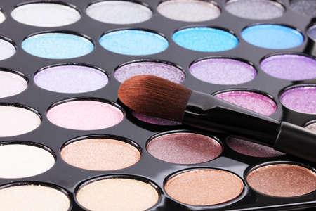Bright eye shadows close-up Stock Photo - 14322087