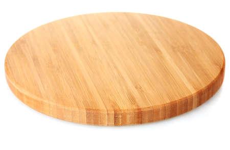 recortando: tabla de cortar aislado en blanco Foto de archivo
