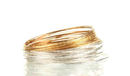 Beautiful bracelet isolated on white background Stock Photo - 14357094