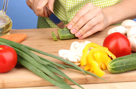Chopping food ingredients Stock Photo - 14441621