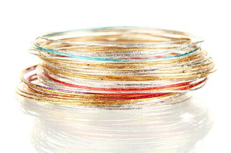 Beautiful bracelet isolated on white background Stock Photo - 14708964