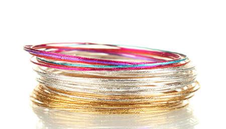 Beautiful bracelet isolated on white background Stock Photo - 14708433