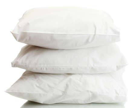 pillows isolated on white photo