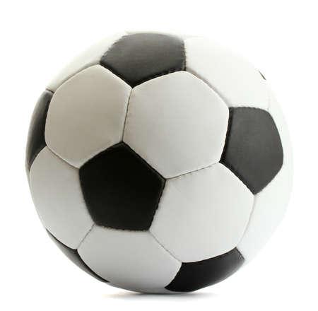 campeonato de futbol: bal�n de f�tbol, ??aislado en blanco Foto de archivo