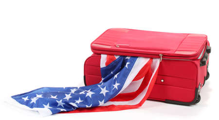 emigration: The concept of emigration, immigration, relocation Stock Photo