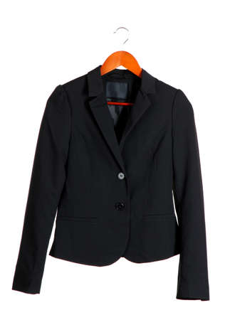 Women's black classic jacket photo