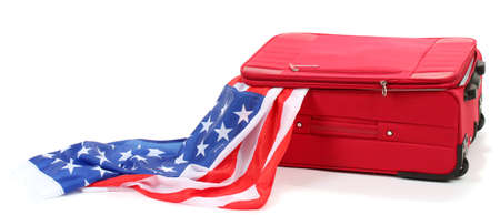 emigration and immigration: The concept of emigration, immigration, relocation Stock Photo