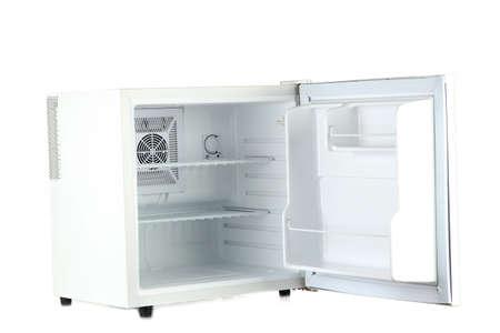 Minibar Kühlschrank Weiß : Mini kühlschrank voller flaschen und gläser mit verschiedenen