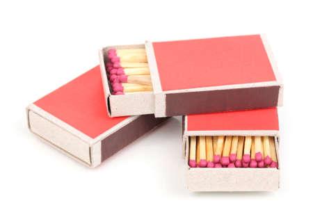matches isolated on white photo