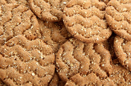 galettes: tasty crispbread, close up