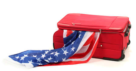 The concept of emigration, immigration, relocation photo
