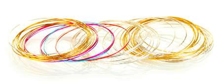 Beautiful bracelet isolated on white background Stock Photo - 15961738