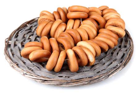 tasty bagels, isolated on white Stock Photo - 15963971