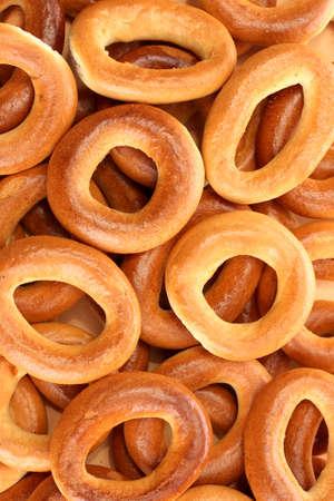 boublik: tasty bagels, close up Stock Photo