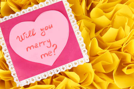Wonderful Valentine with words:You Stock Photo - 16037689