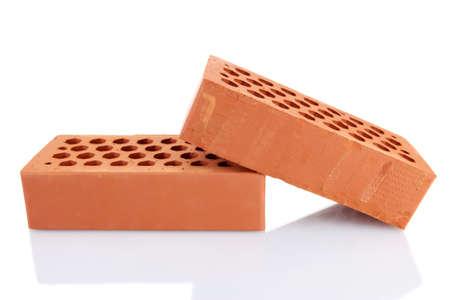 bricks, isolated on white Stock Photo - 16342665
