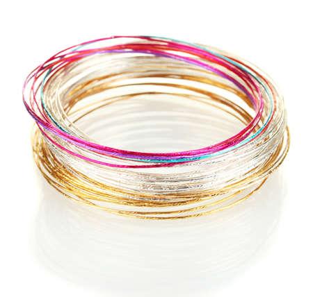 Beautiful bracelet isolated on white background Stock Photo - 16439833