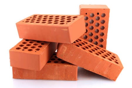bricks, isolated on white Stock Photo - 16501445