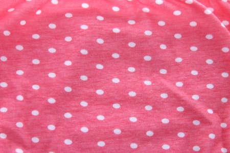 jaunty: polka dot fabric as background