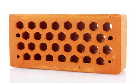 brick, isolated on white photo
