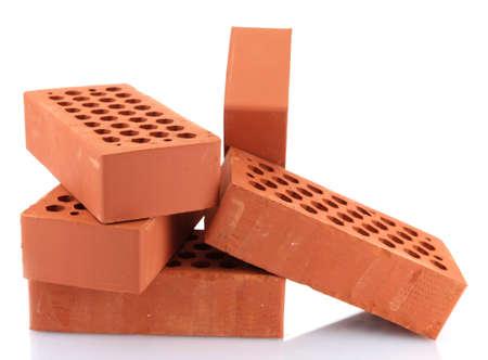 bricks, isolated on white Stock Photo - 16751741