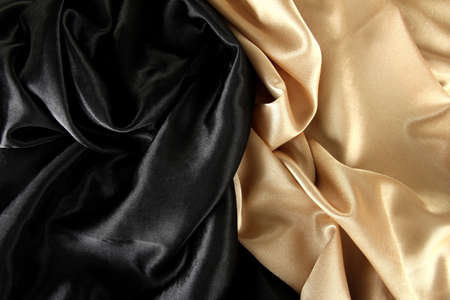 beautiful silk drape, close up photo