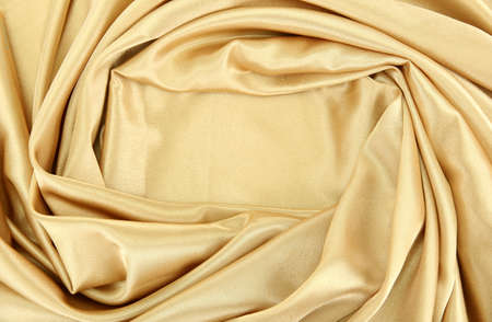 sensuous: beautiful silk drape, close up
