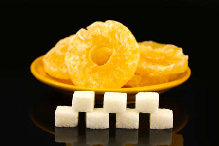 Concept: Amount of sugar in food photo