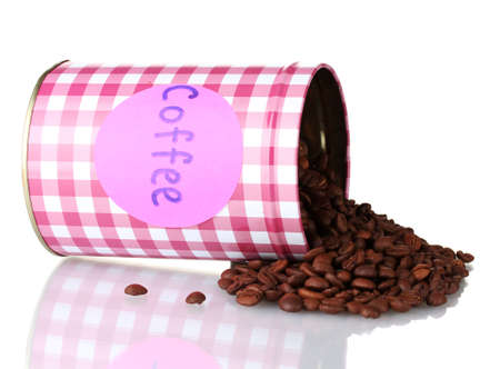 Coffee container isolated on white Stock Photo - 17291520