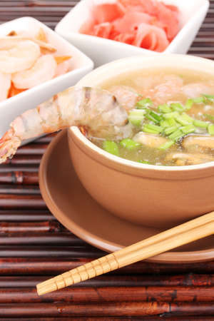 Chinese soup photo