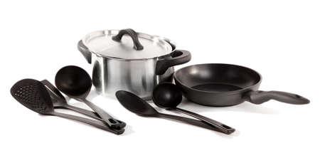 kitchen tools isolated on white Stock Photo - 17348622