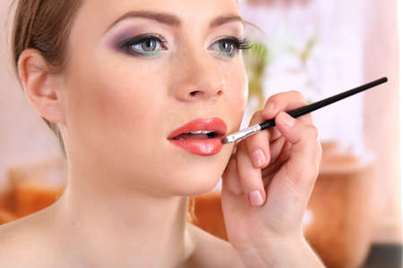 Make up backstage Stock Photo - 17545308