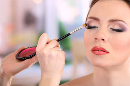 makeup artist: make up backstage